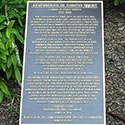 Photo of Dorothy Height Memorial Marker