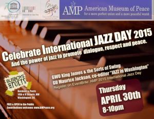 AMP's 2015 International Jazz Day Program Cover