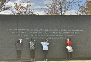The Martin Luther King Jr. National Memorial in Washington, DC