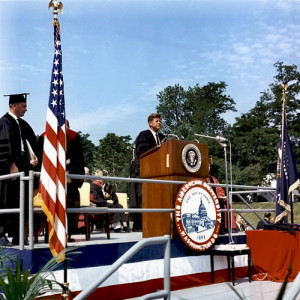 President John F. Kennedy's Commencement Address at American University, June 10, 1963