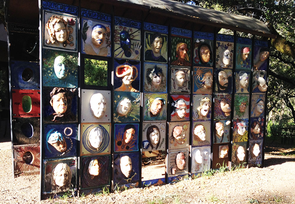 Wall of Peace, Santa Rosa, CA