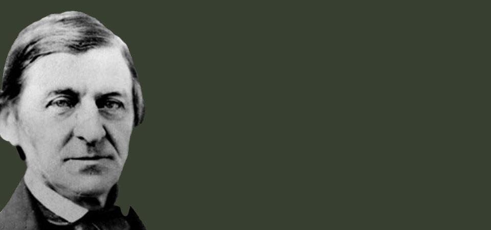 Ralph Waldo Emerson (1803 - 1882) American literary essayist, lecturer, poet and philospher